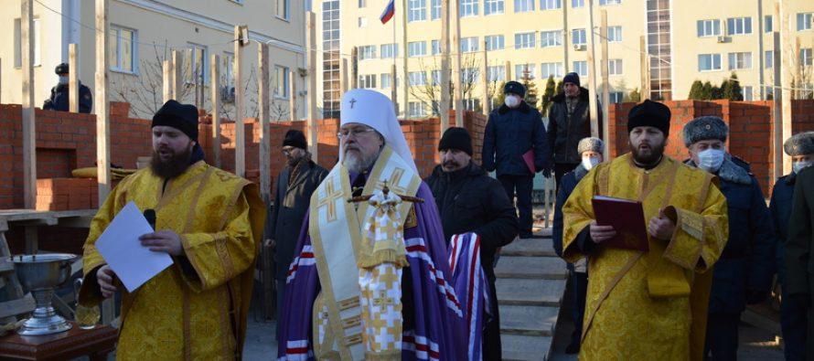На территории Академии ФСИН в Рязани будет построен новый храм