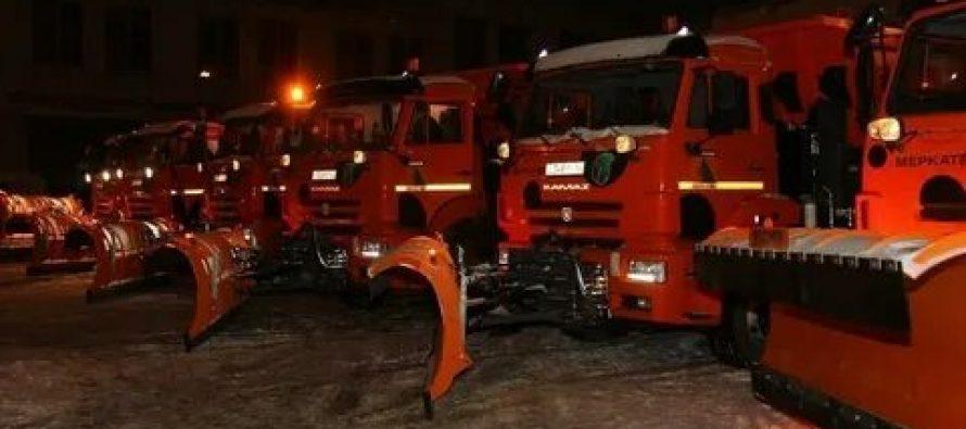 На рязанских дорогах появилась новая техника для уборки снега