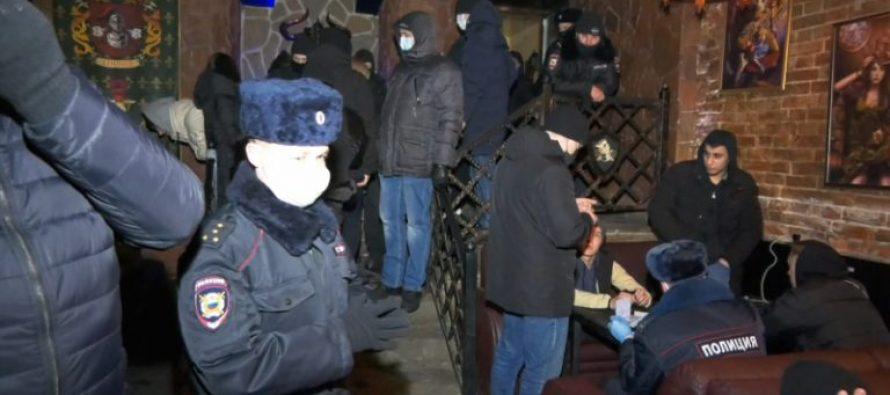 Полиция Рязани пресекла нарушения карантина в двух кафе города