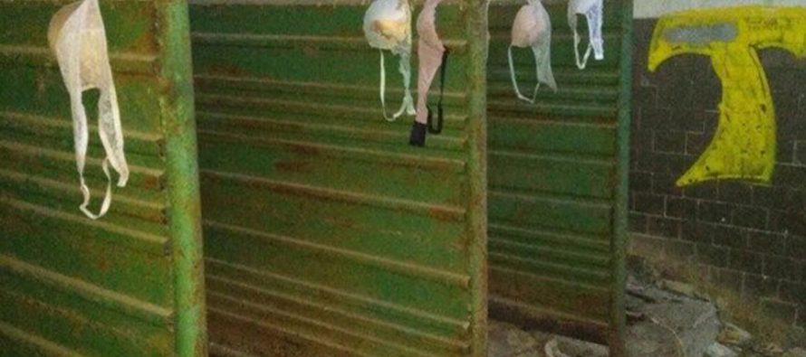 Житель Рязани призвал городские власти обратить внимание на беспорядок в заброшенном туалете в парке