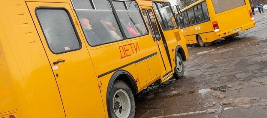 ГИБДД Спасского района провела проверку школьных автобусов и профилактические беседы с водителями