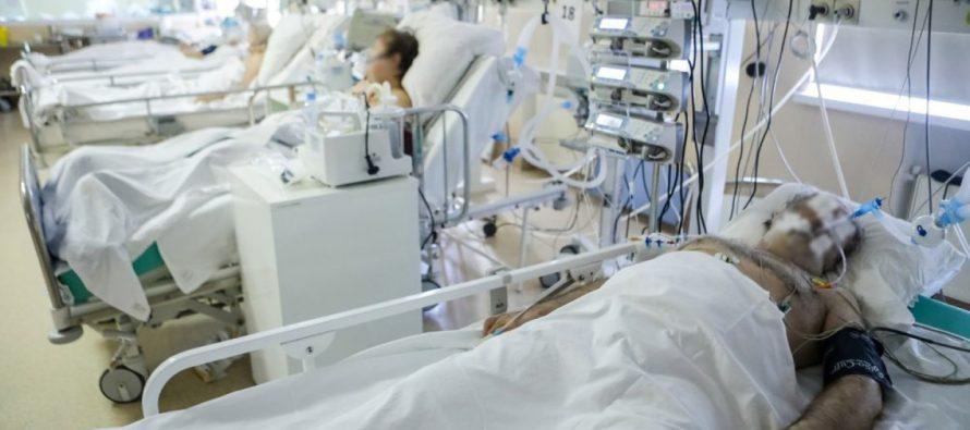 В рязанских больницах находится 70 пациентов с тяжелой формой Covid