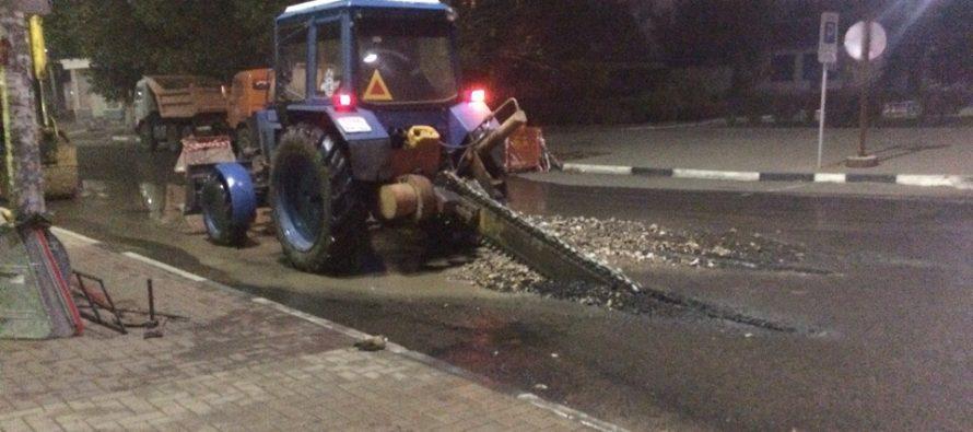 В Рязани десять улиц остались без воды из-за аварии на водопроводе