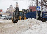 В ночь перед Рождеством рязанские улицы убирало почти 40 единиц техники