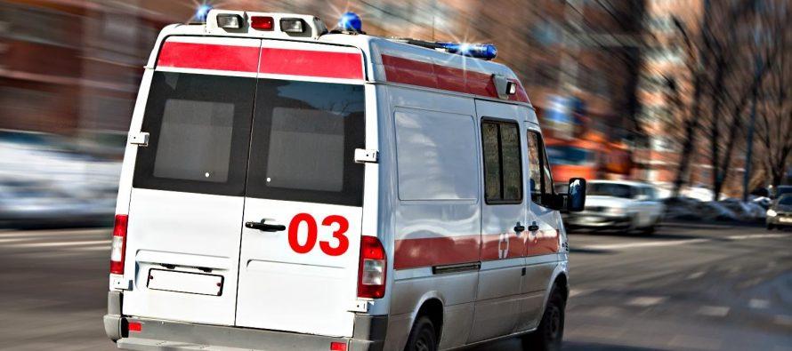 Житель Новомичуринская выпал из окна третьего этажа и отделался царапинами