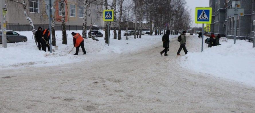 Мэр Рязани поучаствовала в уборке снега и поделилась впечатлениями