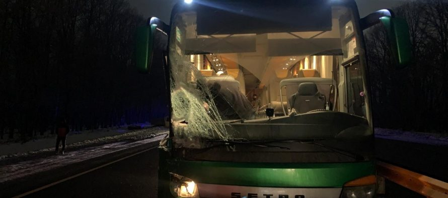 В ДТП с автобусом «Москва-Рязань» пострадали два человека