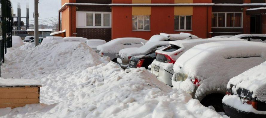 В выходные в Рязанской области ожидаются сильные снегопады и усиление мороза