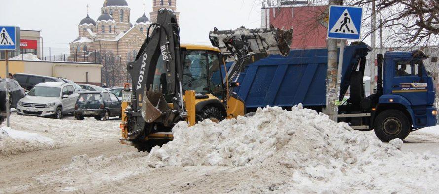 Мэрия Рязани раскрыла план действий на случай сильного снегопада
