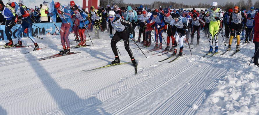 Под Рязанью прошли соревнования «Лыжня России» с участием 5000 человек