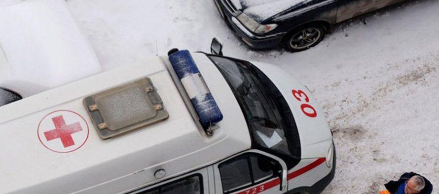 На выезде из Рязани КАМАЗ совершил наезд на женщину