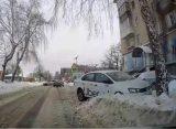 В соцсетях появилось видео воскресного ДТП в Рязани с участием такси
