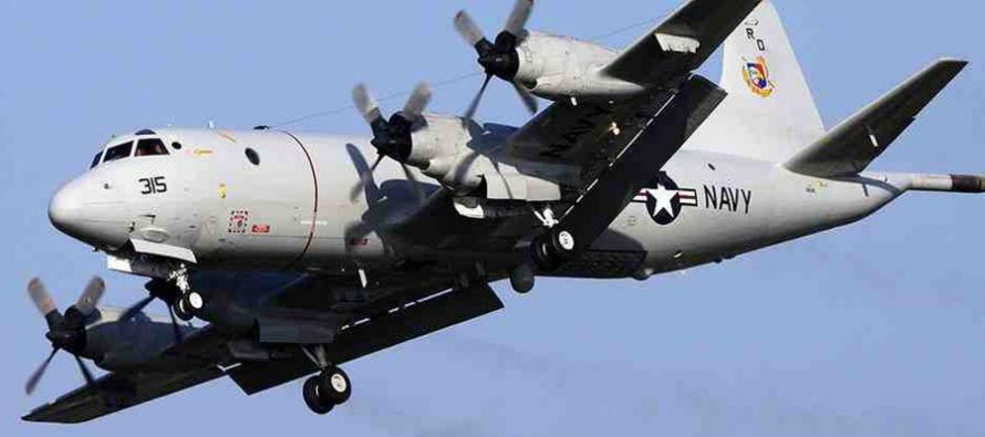 Разведывательный самолет США вторгся в бесполетную зону российских учений