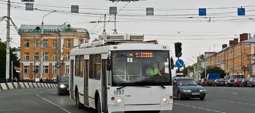Рязанская гордума предлагает запустить троллейбусные маршруты, работающие до полуночи