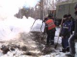 Ремонтники восстановили подачу горячей воды и тепла в рязанском Недостоево
