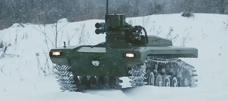 Stern: Россия разрабатывает комплексы «Маркер» и готовится к «войнам роботов»