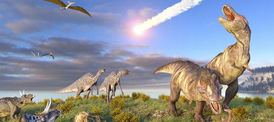 Ученые обнаружили доказательства вымирания динозавров от астероида