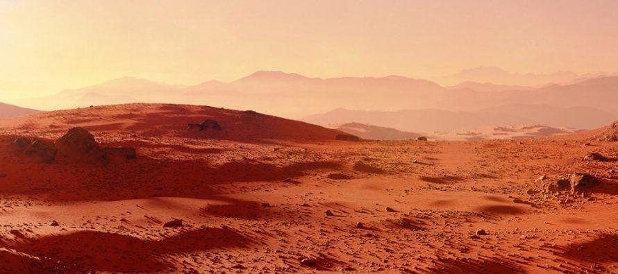 По мнению ученых на Марсе могут возникать искры
