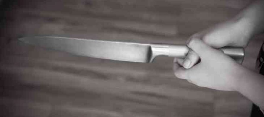 Полицейские спасли рязанца, которого хотела зарезать собственная жена