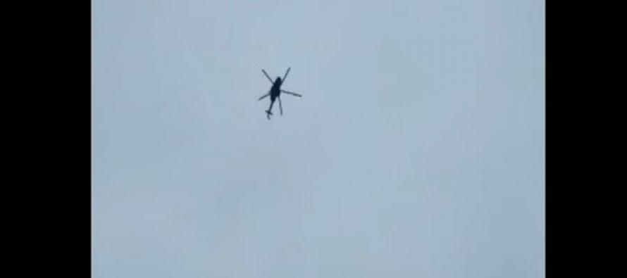 Украинские военные чуть не сбили российский вертолет Ми-8