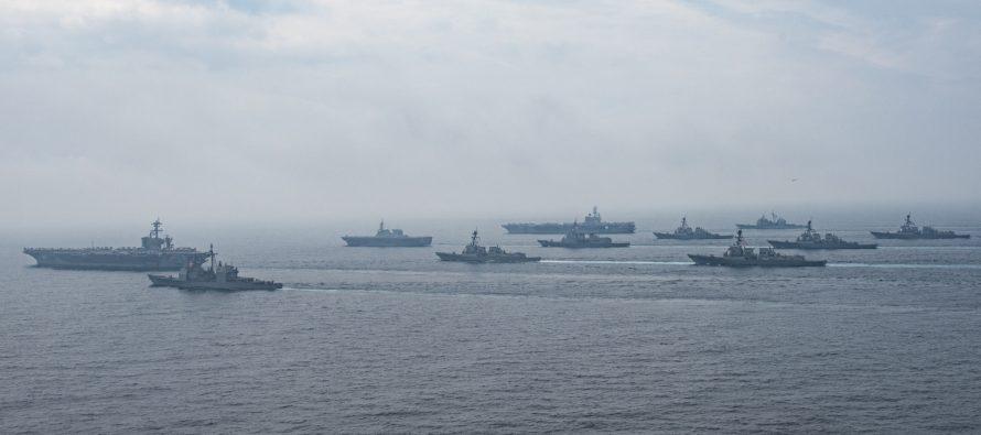 Неподалеку от побережья Крыма замечено 13 кораблей НАТО