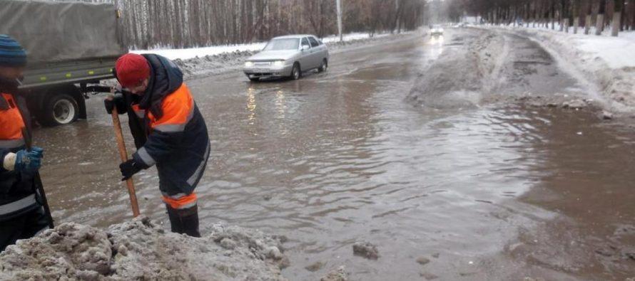 Во вторник температура воздуха в Рязанской области поднимется до +4