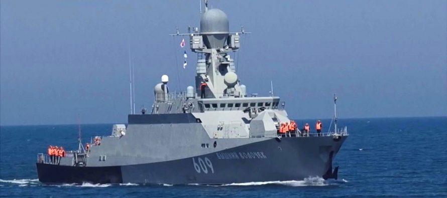 Россия отправила в Сирию боевой корабль с ракетами «Калибр» на борту