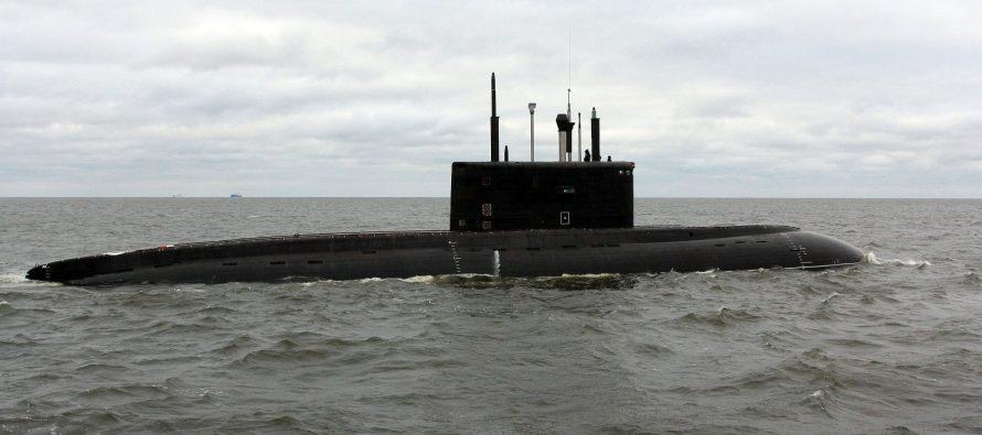 Британский сторожевой корабль погонялся за российской подлодкой с ракетами «Калибр»