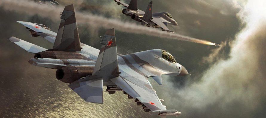 Два российских Су-30 обратили в бегство восемь истребителей Пакистана