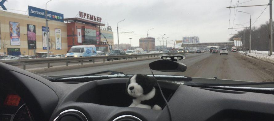 У ТРЦ «Премьер» в Рязани девочка чуть не попала под колеса авто