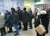 В рязанской горбольнице №11 засняли огромную очередь в регистратуру