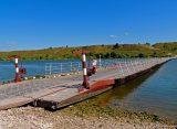 В Рязанской области ограничили движение по наплавным мостам из-за увеличения водного зеркала Оки