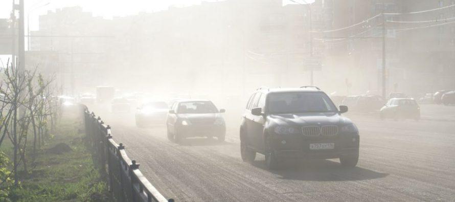 В Рязани в феврале зафиксировали повышенный уровень загрязненности воздуха
