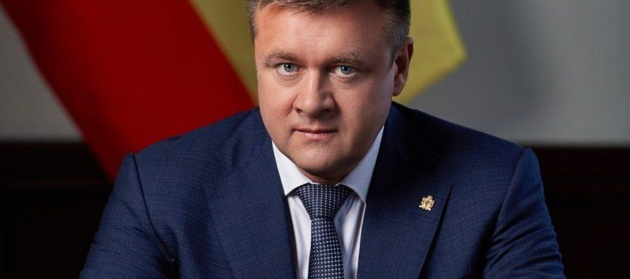 Любимов встретился с главами фракций Рязанской облдумы