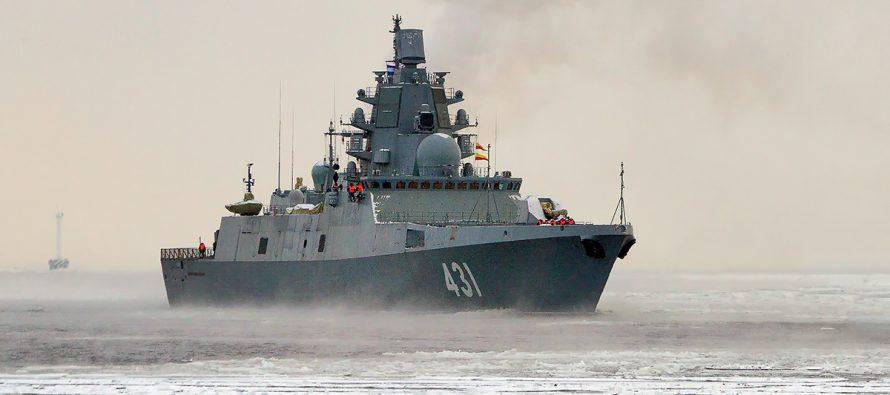 Фрегат «Адмирал Касатонов» ворвался в зону учений НАТО в Средиземном море