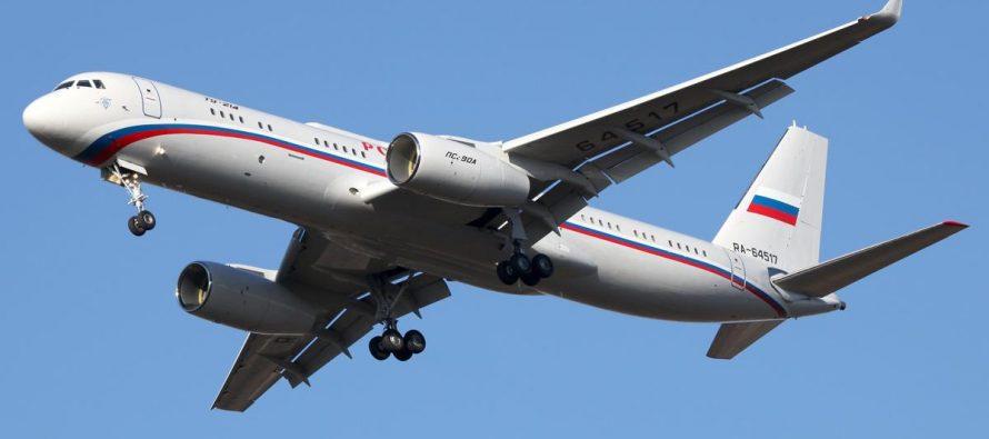 Самолет Минобороны прилетел в Хакасию перед возможным приездом Путина в тайгу