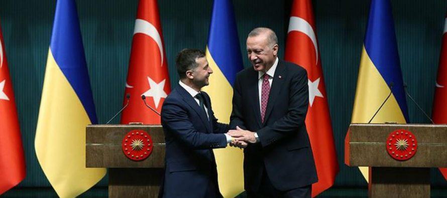 Турция обещает Украине помощь и подстрекает ее к наступлению на Донбасс