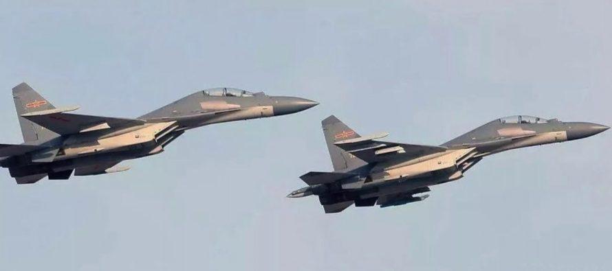 Китайский пилот заявил о превосходстве истребителя J-16 над российским Су-30