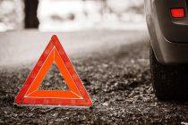 Утром на Южной Окружной произошла авария с участием трех авто