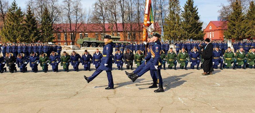В Рязанском десантном училище прошел 11-й выпуск прапорщиков