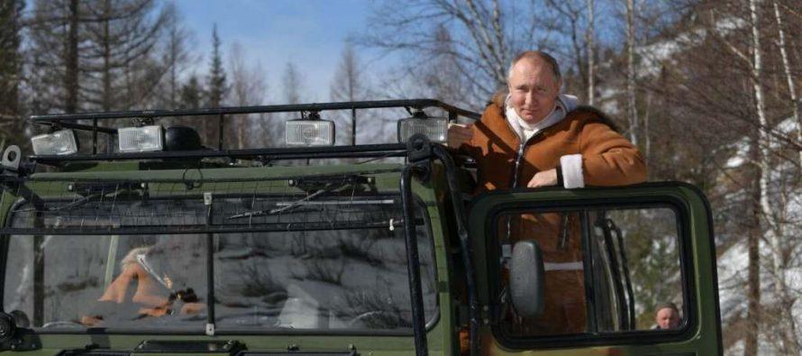 Модный критик The New York Times оценила фотосессию Путина втайге