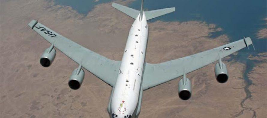 Российские комплексы РЭБ сорвали разведывательную операцию американского Boeing RC-135W