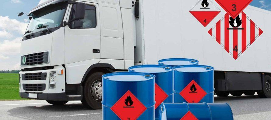 Рязанская ГИБДД займется проверкой грузовиков с опасными грузами