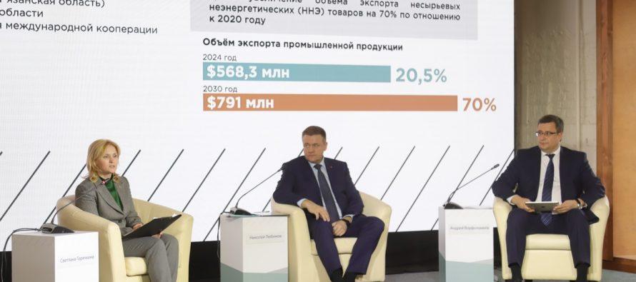 Любимов наградил «Экспортеров года» среди предприятий Рязанской области