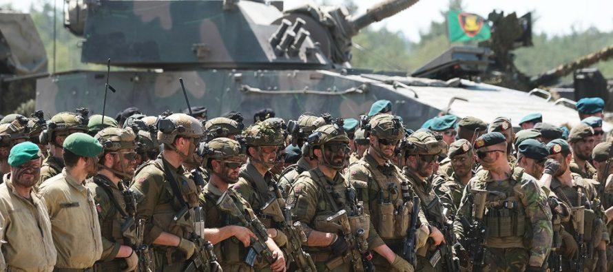 На Украине признали, что на учениях с НАТО будут отрабатывать войну с Россией