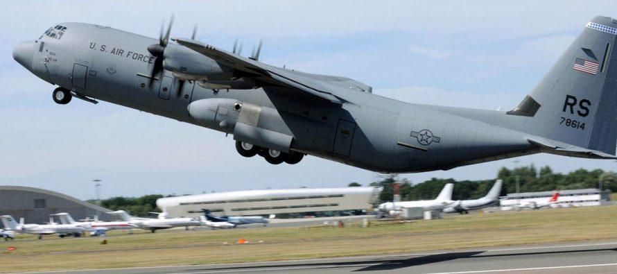 Военная авиация США спешит на помощь Зеленскому