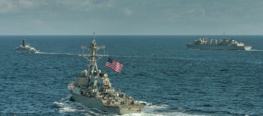 Вице-адмирал Святашов призвал «выгонять метлой» корабли ВМС США из Черного моря