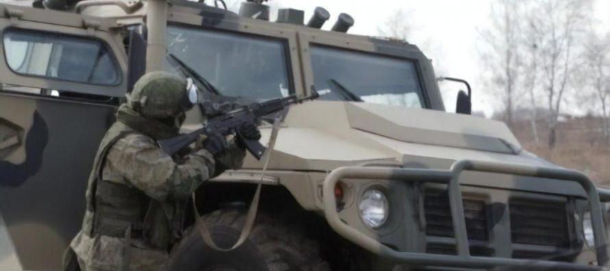 На британском канале Sky News показали военный  полигон РФ недалеко от украинской границы