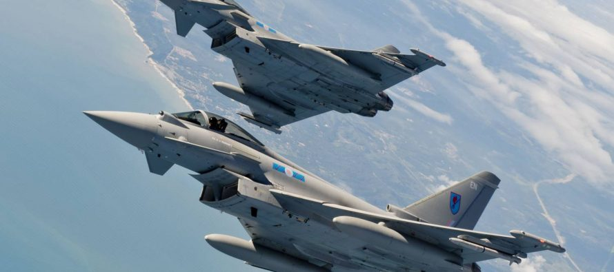 Британцы выразили недовольство отправкой истребителей для «сдерживания российской агрессии»