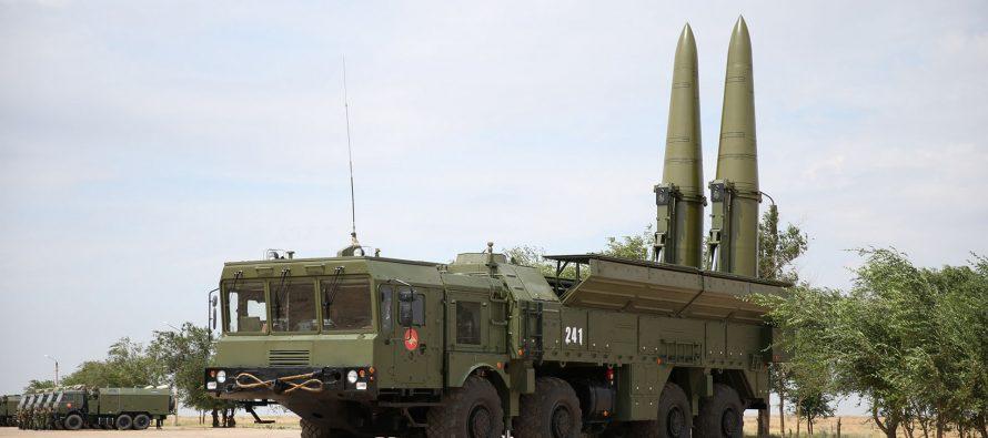 Россия развернула комплексы «Искандер-М» на границе с Украиной